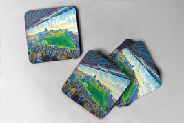 edgeley park  Coaster set of four